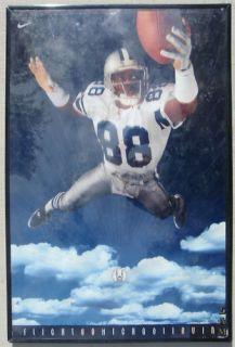 Michael Irvin Dallas Cowboys 88 1994 Triplets Poster