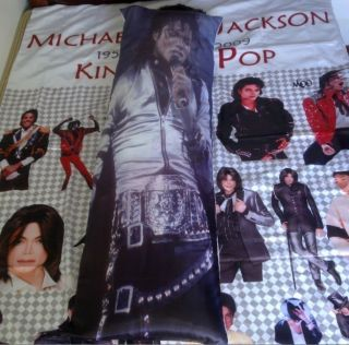 Michael Jackson History World Tour Long Cushion Pillow Cover