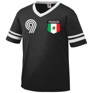 Mexico Retro Soccer Jersey Mens T Shirt Futbol Camiseta