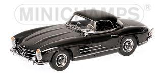 Mercedes Benz 300 SL Roadster W198 1957 Black