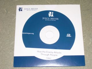 The Enemy Attacks Through People by Joyce Meyer CD Brand New