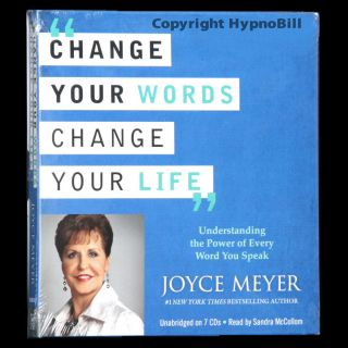 New Change Your Words Change Your Life Joyce Meyer 7 CDS