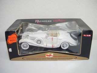 Maisto Mercedes Benz 500 K 1 18 Scale Toy Car Boxed