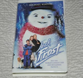 Michael Keaton Jack Frost VHS 1999 Warner Brothers