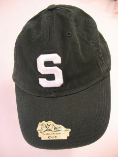 Michigan State Spartans YOUTH Ball Cap Dark Green Casual CHILD