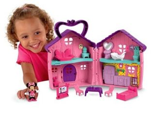 Fisher Price Mickey Mouse Clubhouse Minnies House Playset