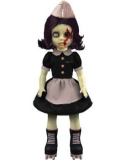 Mezco Toyz Living Dead Dolls Series 22 PEGGY GOO with Coffin & Death