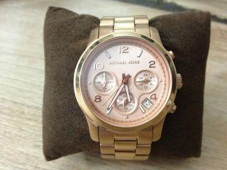 Michael Kors MK5128 Rose Gold Womens Watch