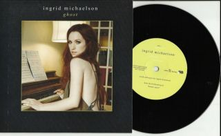 New Ingrid Michaelson Ghost 7 inch Vinyl EP Record 45