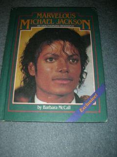 Michael Jackson Memorabilia Weekly Reader Book 1984 Biography GUC