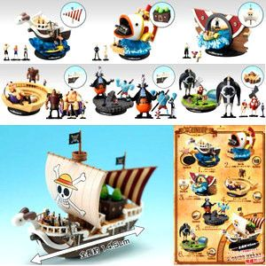 One Piece Anime 1 144 World Scale Going Merry Diorama Pirate SHIP
