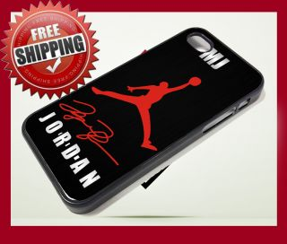 MICHAEL JORDAN Bulls Basket Legend MJ iPhone 5 CASE Apple Phone Cover