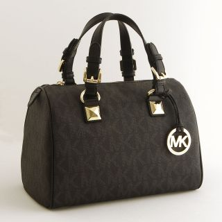 Michael Michael Kors Grayson Medium Logo Satchel