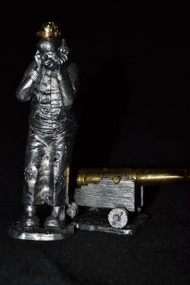 Michael Anthony Ricker Big Top Clown Clown Cannon Pewter Very Rare
