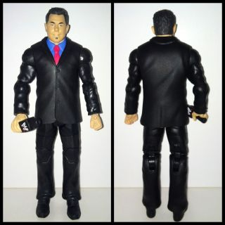 WWE Mattel Elite Michael Cole PPV TRU BAF MINT Wrestling Action Figure