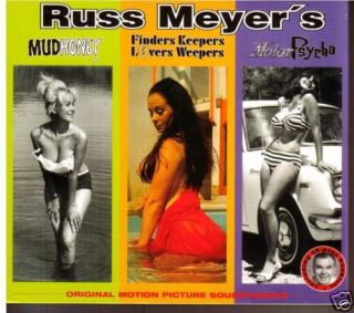 Mud Honey Motor Psycho 3 Russ Meyer Soundtracks CD