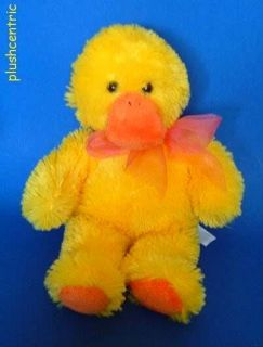 Duck Retired Mary Meyer Floppy Beanbag Plush Stuffed Animal 10