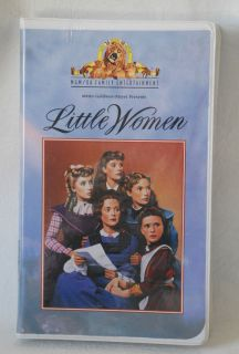 Never Opened Little Women VHS 1995 June Allyson Peter Lawford
