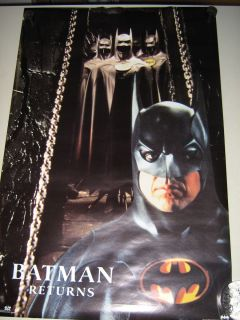 Batman Returns Movie Poster 2076 Michael Keaton EXC New Cond