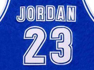Michael Jordan McDonald All American Blue Jersey St New Any Size