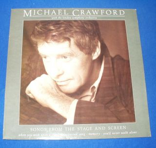 Vinyl LP Record Album Michael Crawford with The London Symphony