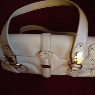 Michael Kors White Handbag