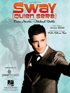 Michael Buble Dean Martin Sway Quien Sera Piano Vocal Guitar Sheet