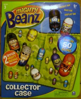 Mighty Beanz 2010 Series 3 Green Case Brand New with 2 Special Edition