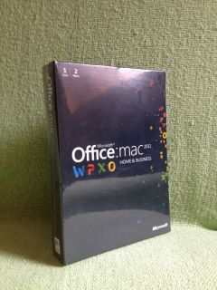 Microsoft Office Mac Home Business MultiPK 2011 English DVD W9F 00014