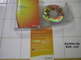 MS Microsoft Office 2007 Standard Full Version New Retail Box