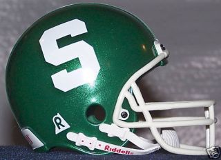 Michigan State Spartans 4 Tall Replica Throwback Helmet New in Box