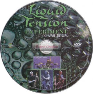 Liquid Tension Experiment Live in L A – DVD Brand New