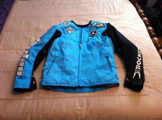 RARE Womens Michael Jordan Joe Rocket Textile Motorcycle Jacket (Size