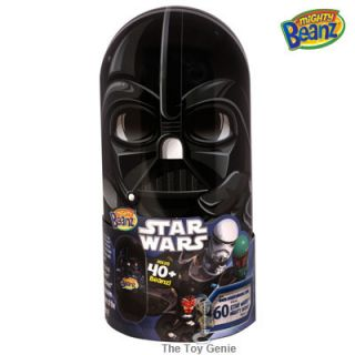 Star Wars Darth Vader Mighty Beanz Tin Comes with 2 Beanz Holds Up to