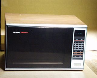 Sharp Microwave Oven Model R9350 Pickup Only No Shipping