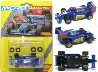1996 Micro Scalextric 1 64 HO Slot Car Renault F1 G128