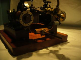 Large Horizontal Live Steam Engine Model Stationary Mill Engine