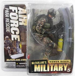 McFarlane Military Series 5 Bonus Sized Air Force Para Rescue PJ