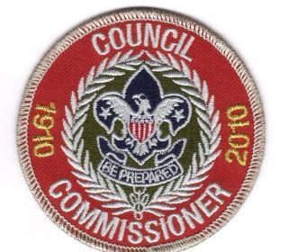 Boy Cub Eagle Scout 2010 Council Commissioner Patch Merit Badge