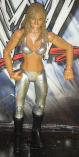 WWE Michelle McCool Wrestling Action Figure Jakks WWF Diva Ruthless
