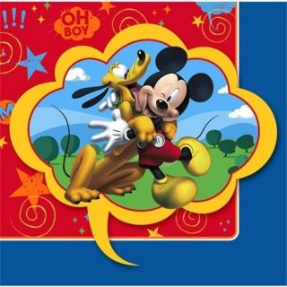 Mickey Mouse Fun Friends Napkins Mickey Mouse Birthday Party Beverage