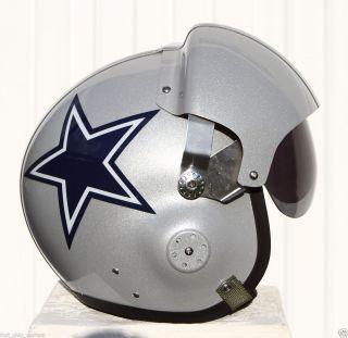 Cowboys Pilot Helmet Football Tony Romo USAF Jersey Miles Austin L XL