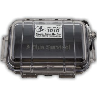 Pelican 1010 Micro Case Black 6 x 4 x 2 Waterproof Box Phone GPS