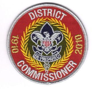 Boy Cub Eagle Scout 2010 District Commissioner Patch Merit Badge