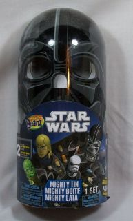 Mighty Beanz Star Wars Darth Vader Mighty Tin w 2 Beanz New SEALED