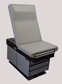 MIDMARK 107 Exam Medical Table w Stool Obgyn Tattoo Power