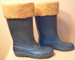 New UGG Rain Snow Boots Millcreek Blue Sky Womens Size 7