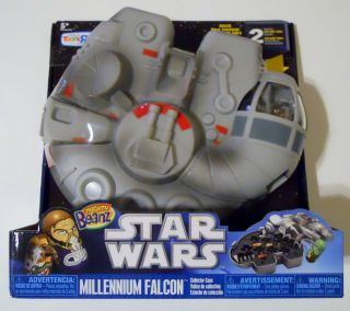 NEW Mighty Beanz Star Wars Millennium Falcon Collector Case Toys R Us