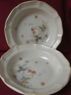 Mikasa, China, Dinnerware, Country Charm, Berry Vale # FG001 .2 soup
