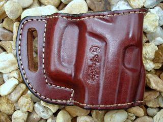 Leather Yaqui Belt Holster 4 Taurus Millennium Pro
